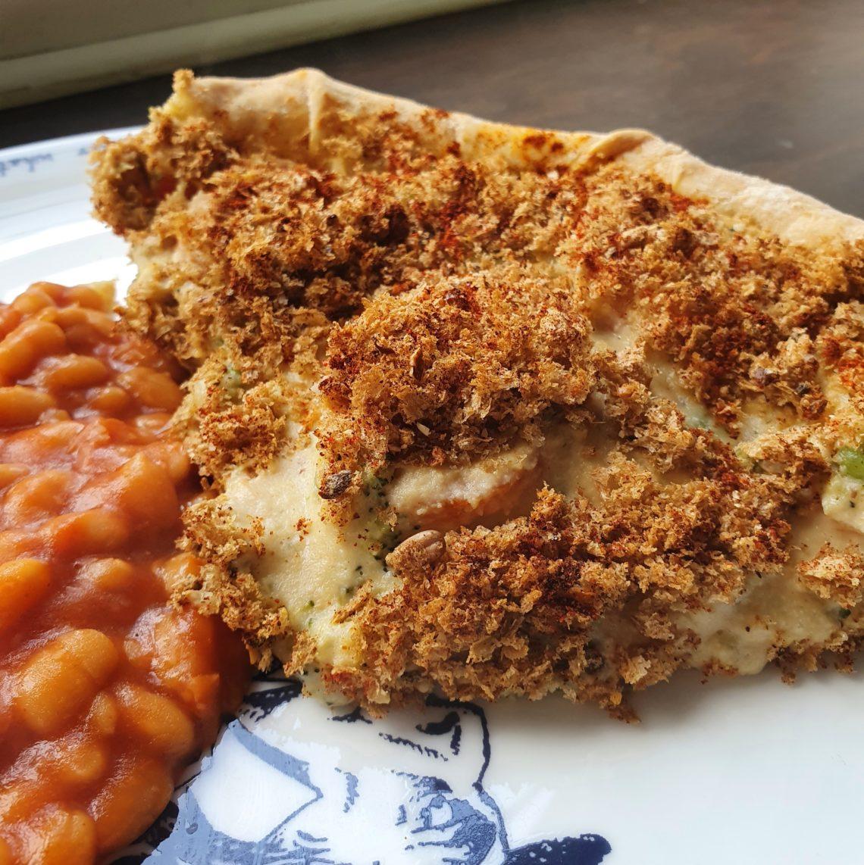 Chunky Mixed Vegetable Tart